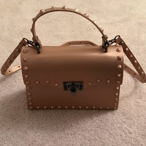 Handbags - Rockstud jelly crossbody bag w/ detachable strap